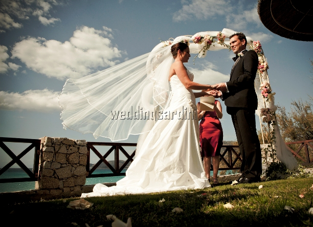 Humanist wedding in Sardinia, Italy