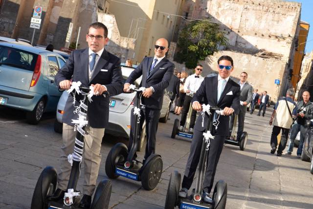 wedding in segway
