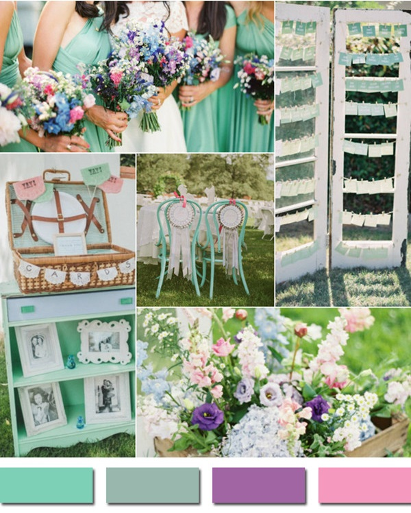 lucite-green-wedding-color-ideas-2015