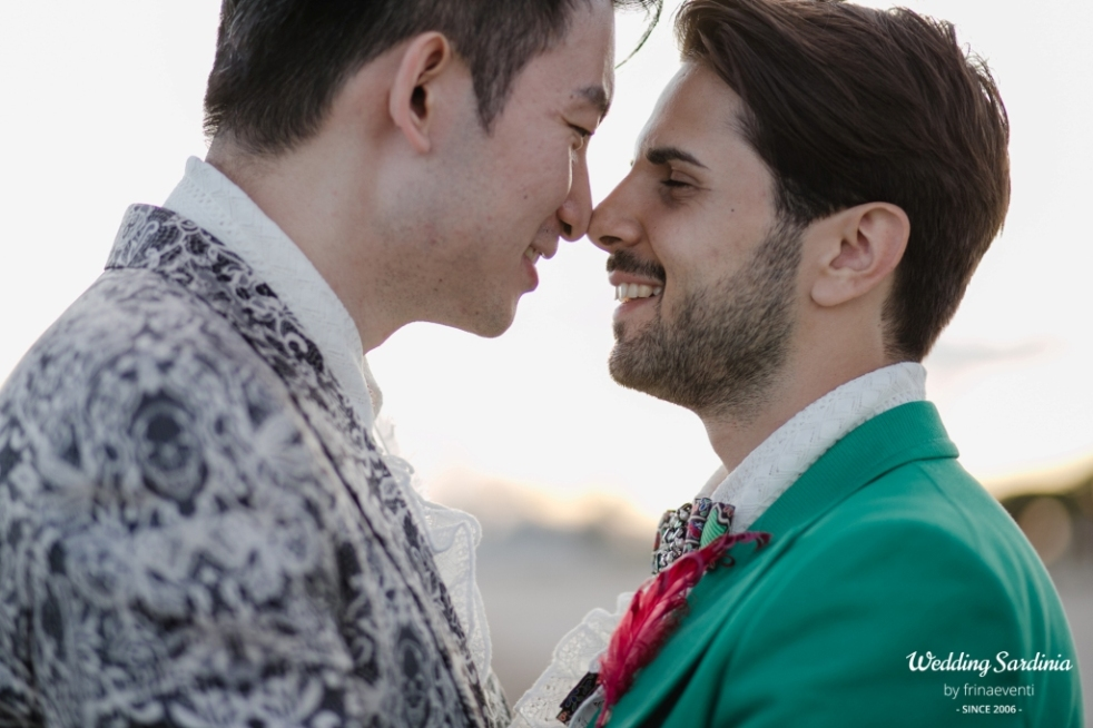 gay wedding in sardinia