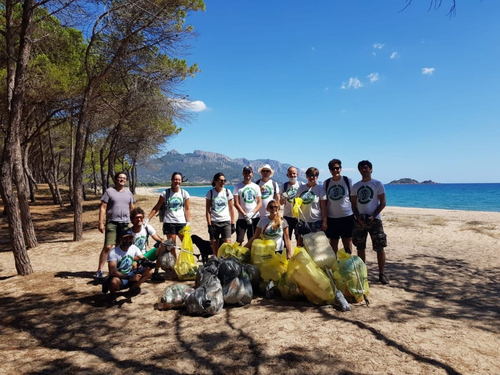 beach clean up Ogliastra Clean Coast Sardinia